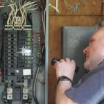 Inspection du panneau électrique